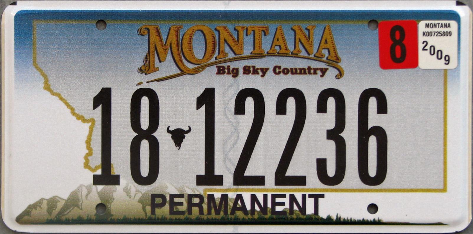 License Plate 9967