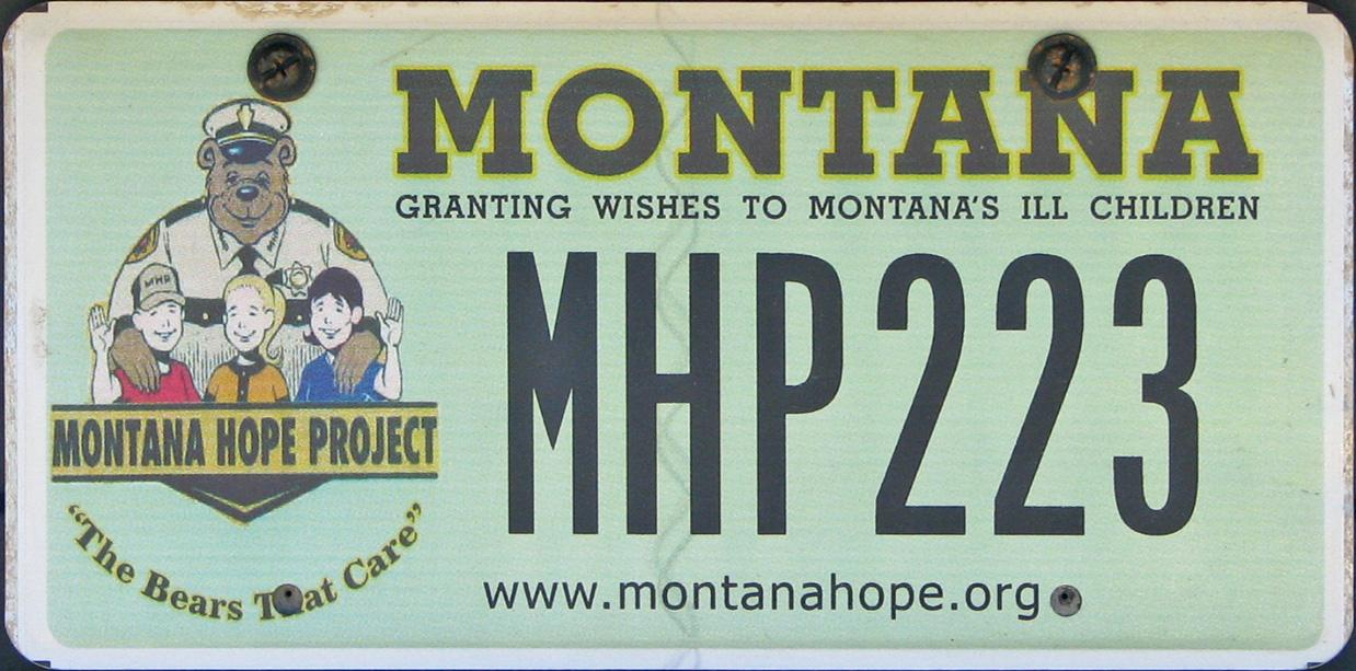 License Plate 9709