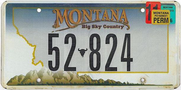 License Plate 10015