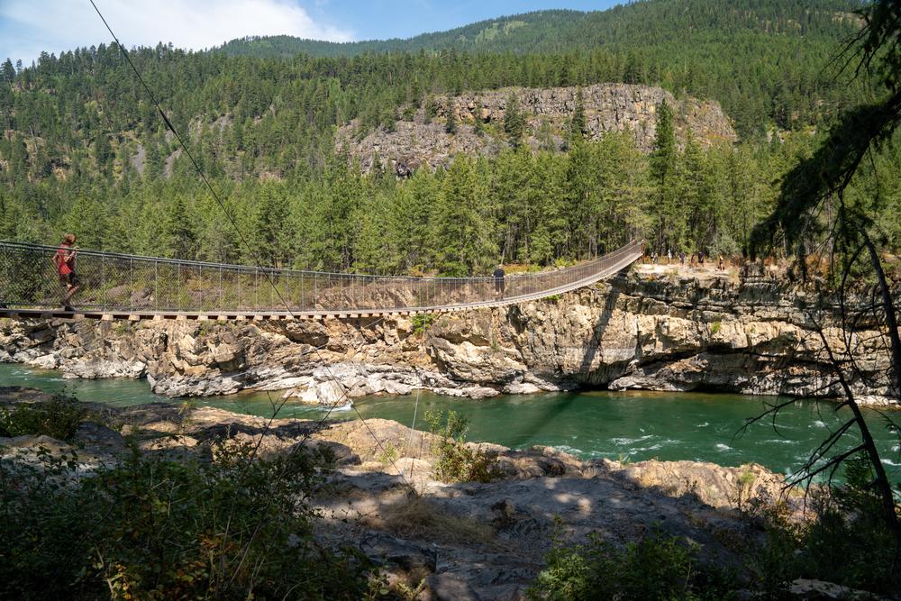Kootenai River In Kootenai National Forest