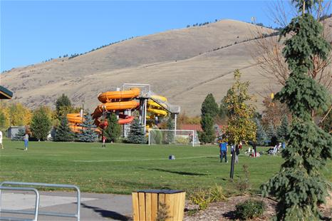 Playground and Soccer Field at Playfair Park