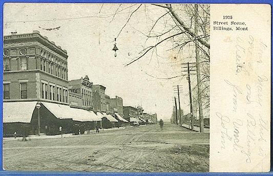 Street Scene, Billings, Mont.