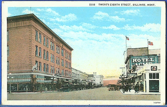 Twenty-Eighth Street, Billings, Mont.