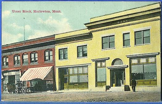 Urber Block, Harlowton, Mont.