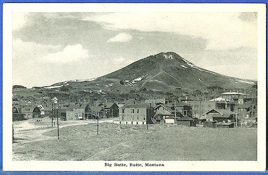 Big Butte, Butte, Montana
