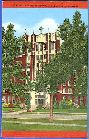 Columbus Hospital, Great Falls, Montana