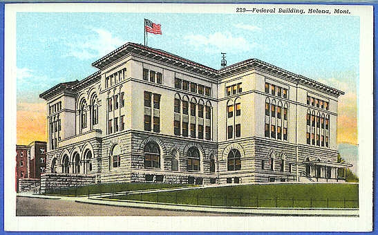 Federal Building, Helena, Mont.