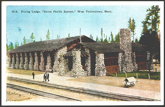 Dining Lodge, Union Pacific Systems, West Yellowstone, Mont.
