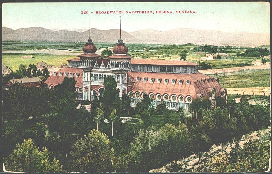 Broadwater Natatorium, Helena, Montana.