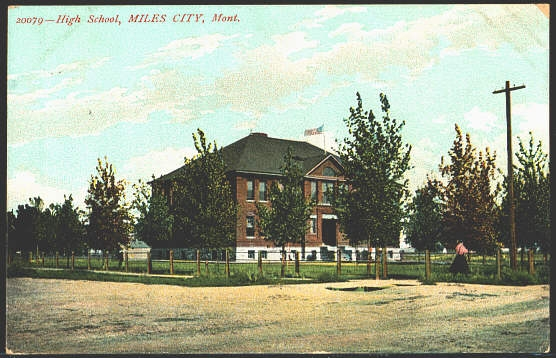 High School, Miles City, Mont.
