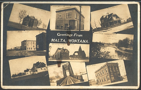 Greeting From Malta, Montana.