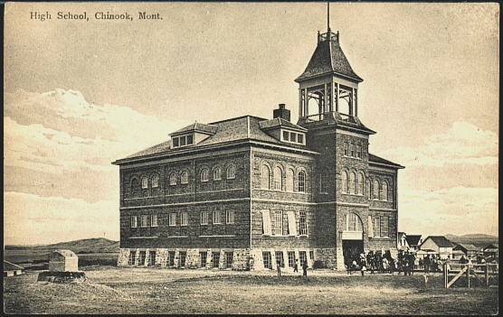 High School, Chinook, Mont.