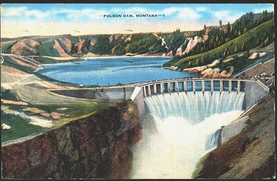Polson Dam, Montana