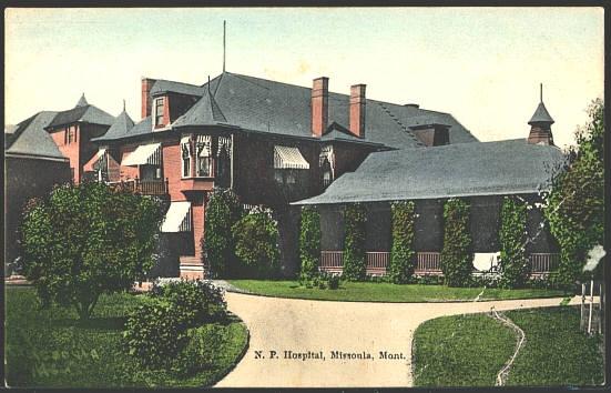 N. P. Hospital, Missoula, mont.