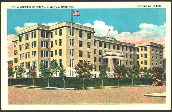St. Vincent's Hospital, Billings, Montana