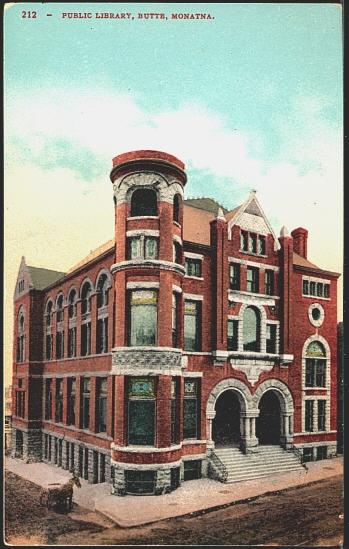Public Library, Butte, Montna.