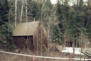 1996: Theodore Kaczynski's cabin outside Lincoln
