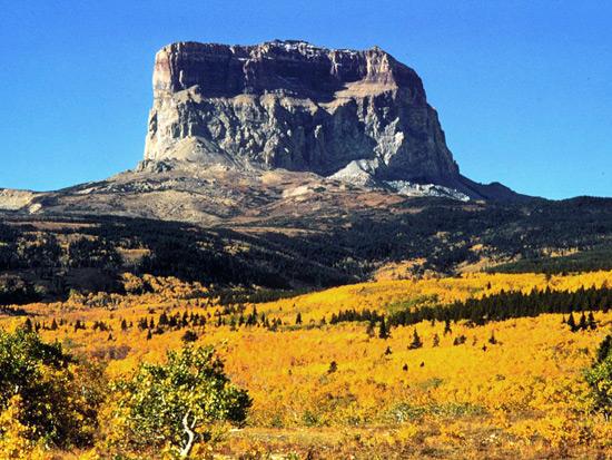 1910: Chief Mountain Glacier National Park