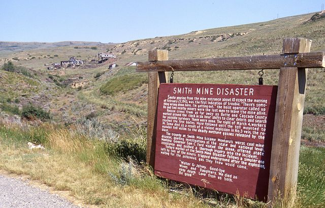 1943: Site of the Smith Mine disaster